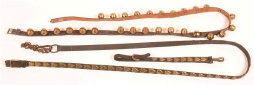 String of 27 Sleigh Bells + Horse Tack.
