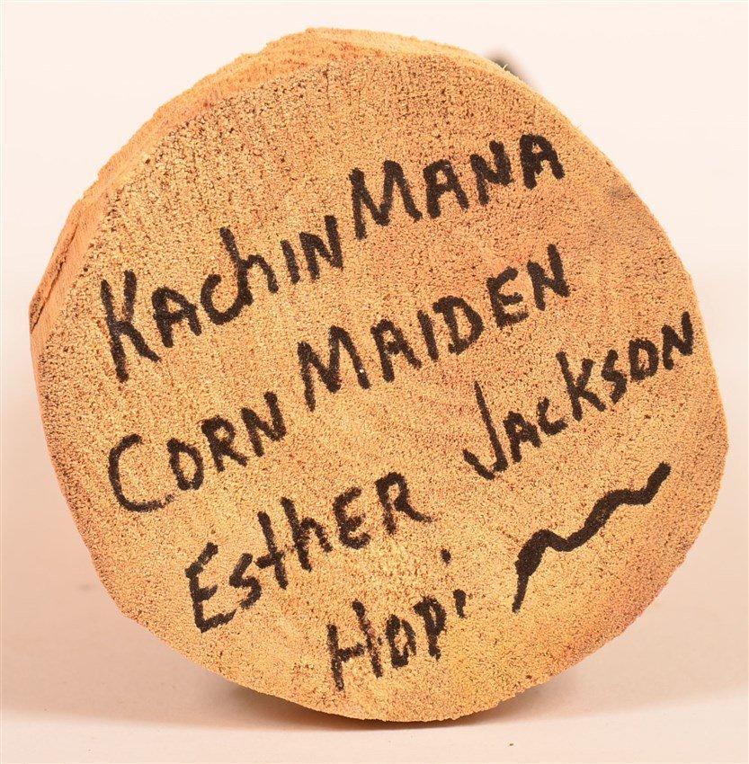 Hopi Kachina Mana Corn Maiden - 4