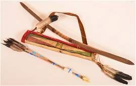 Arapaho Plains Style Bow Set