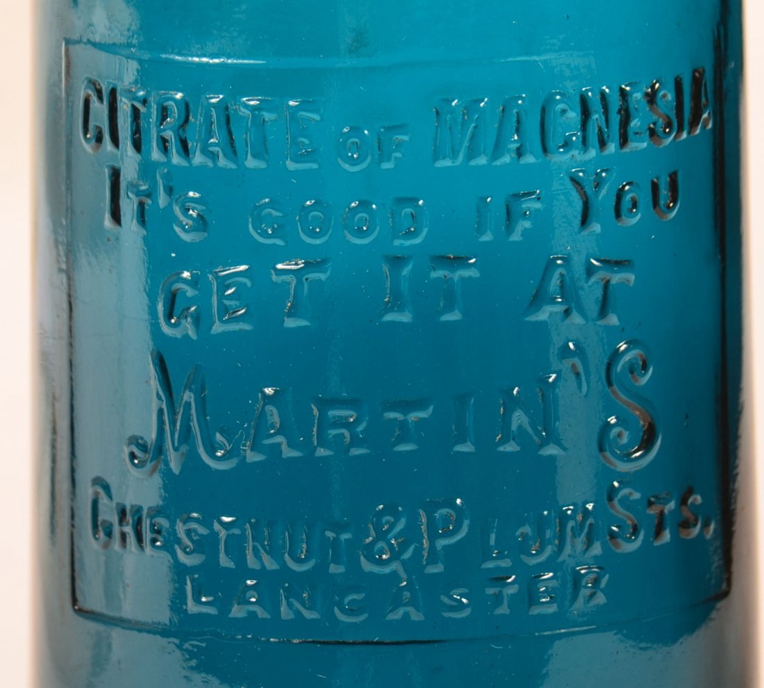 Citrate Of Magnesia Bottle, Martin's, Lanc., PA. - 2