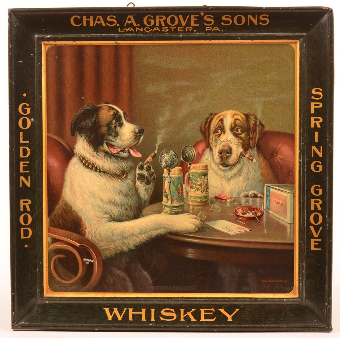 Chas. A. Grove's Wall Hanging, Lancaster, PA.