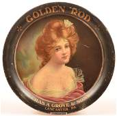Chas. A. Grove's Advertising Tray, Lancaster, PA.
