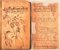 Early 19th Century Rare Fraktur Bookplate