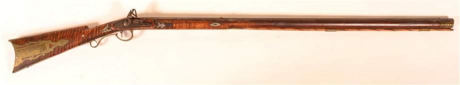 Pennsylvania Kentucky Flintlock Long Rifle