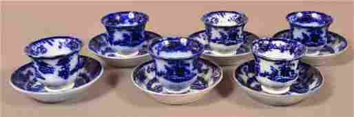 Six Flo Blue Ironstone China Hong Kong CS