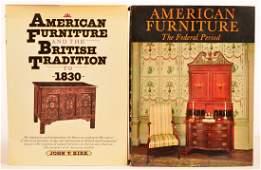 2 vols Books on Federal Furniture