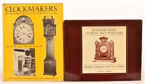 (2 vols) Books on Pennsylvania Clocks