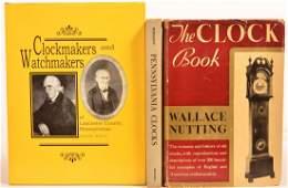 (3 vols) Books on Clocks