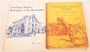 (2 vols) Books on the Conestoga Wagon