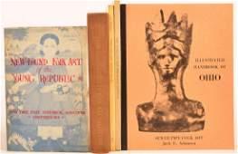 5 vols Books on American Folk Art