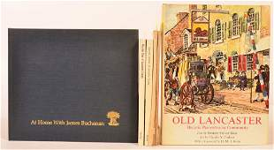 (6 vols) Books on Lancaster County Penna