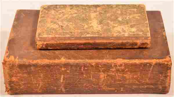 (2 vols) 1825 Lancaster Catechism +