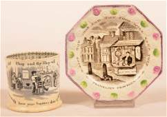 Two Pieces Franklins Proverbs China