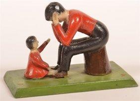 Wolfskill, Lancaster Co. Folk Art Storyteller Figure.