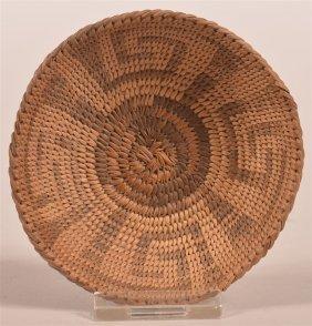 Antique Southwest Indian Miniature Basket.