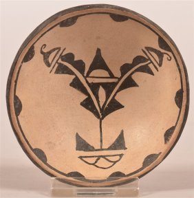 Cochiti Pueblo Indian Miniature Pottery Bowl.