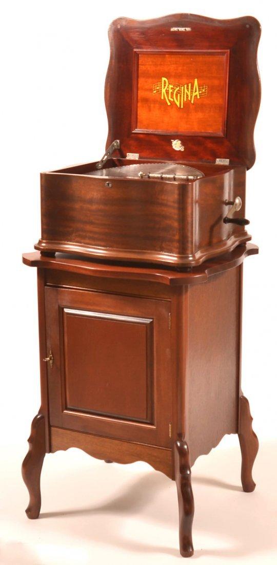 Regina Double Comb Music Box Model #50.