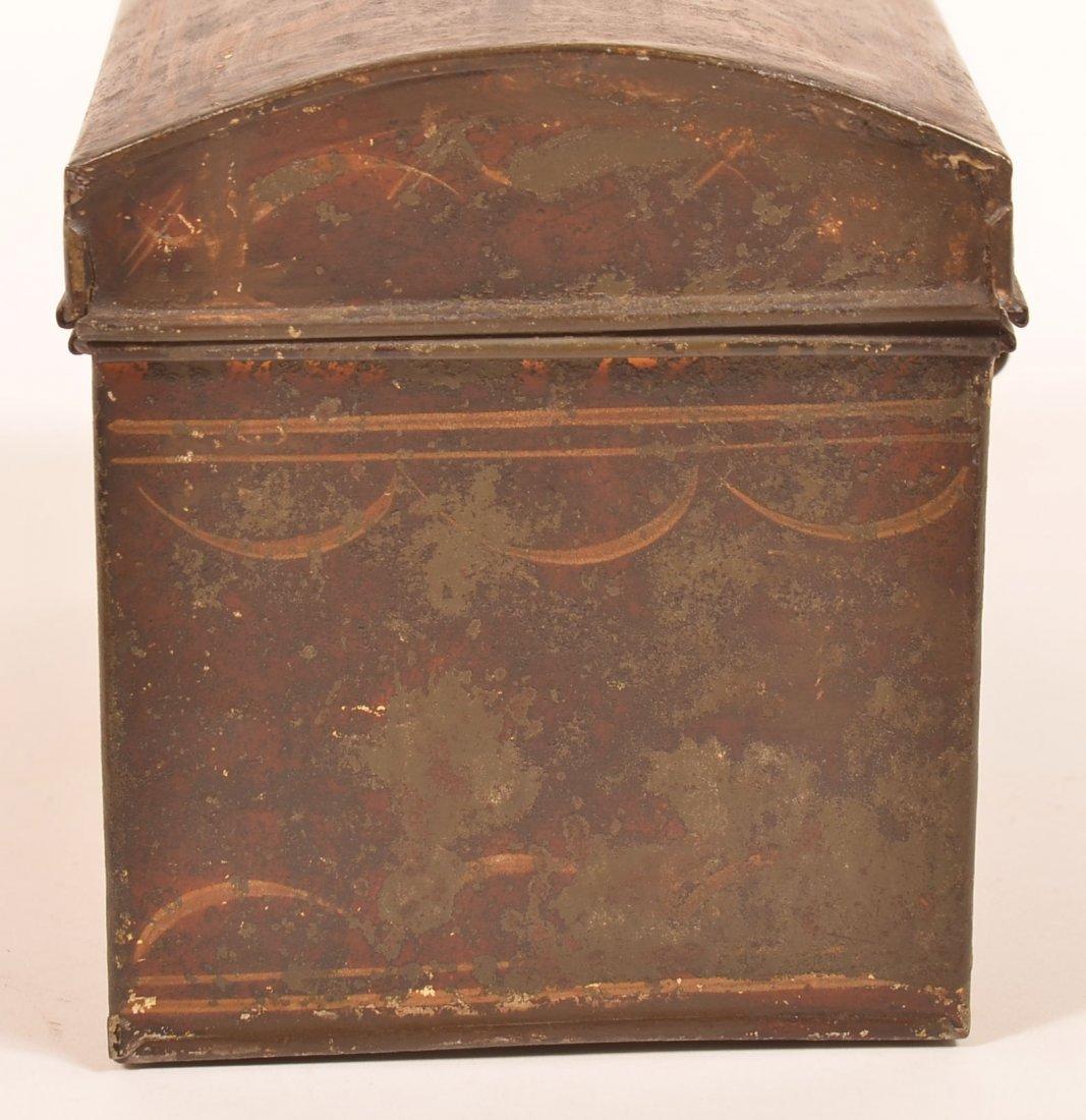 PA 19th Century Toleware Document Box. - 3