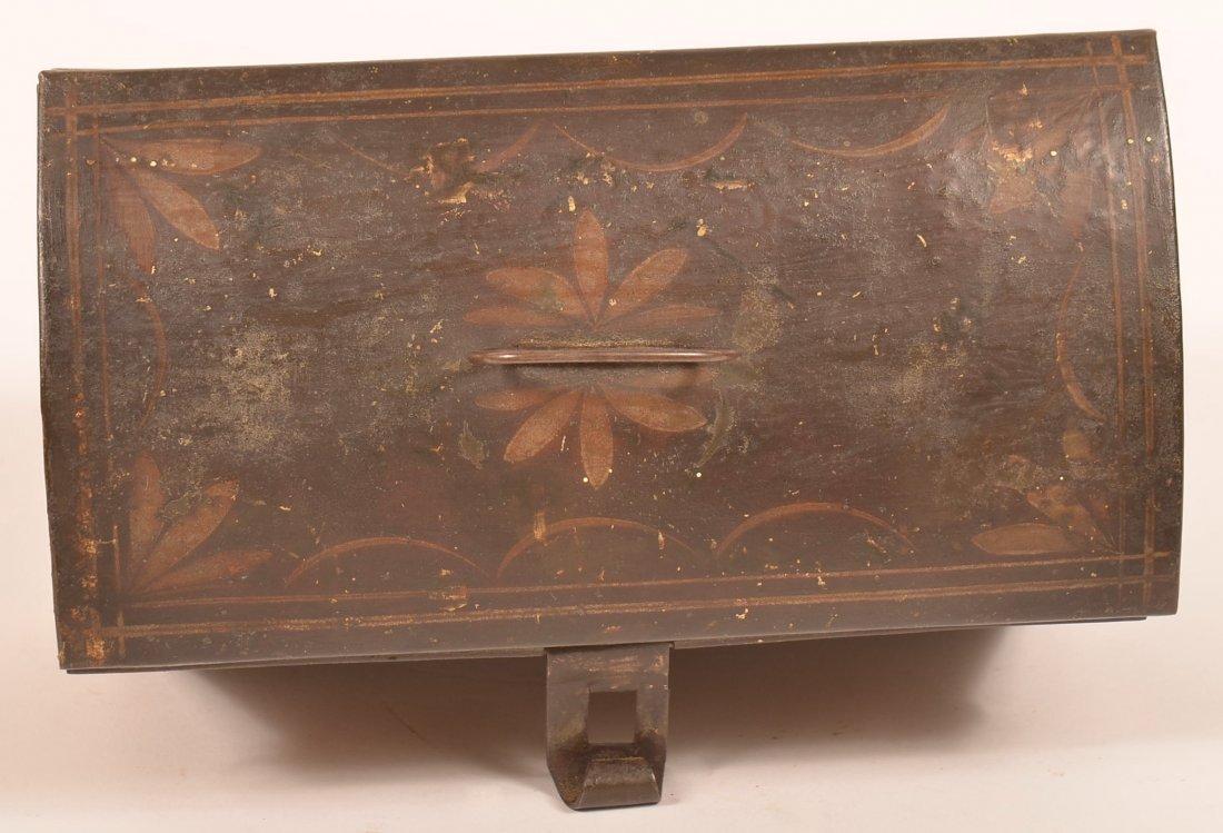 PA 19th Century Toleware Document Box. - 5