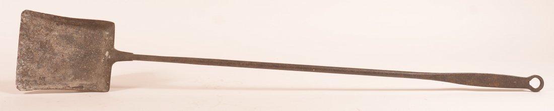 19th Century Wrought Iron Hearth ember Shovel.