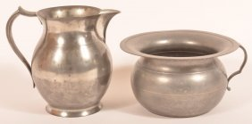 Two Pieces Of Pewter.