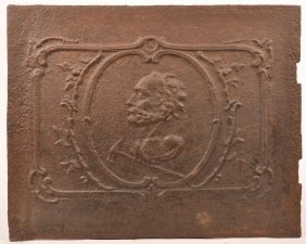 Early 18th Century European Stove Plate