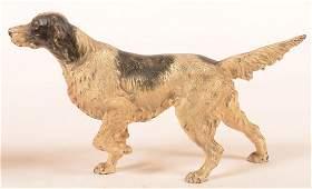 Hubley Cast Iron Setter Dog Doorstop
