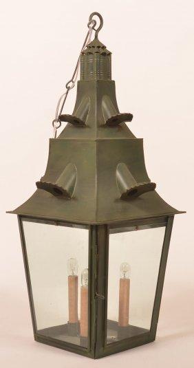 Jerry Martin Tin Hanging Lantern.