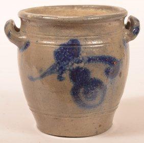 19th Century German Stoneware Storage Jar.