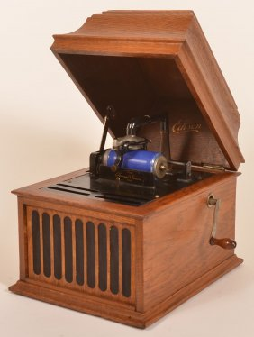1914 Edison Amberola Dx Cylinder Player