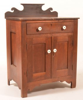19th Century Mixed Wood Washstand.
