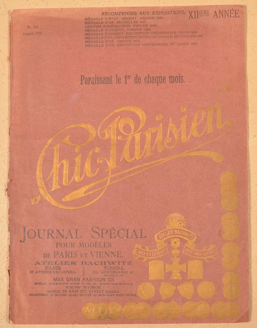 Chic Parisian No. 143, Aug. 1910 Journal Special.