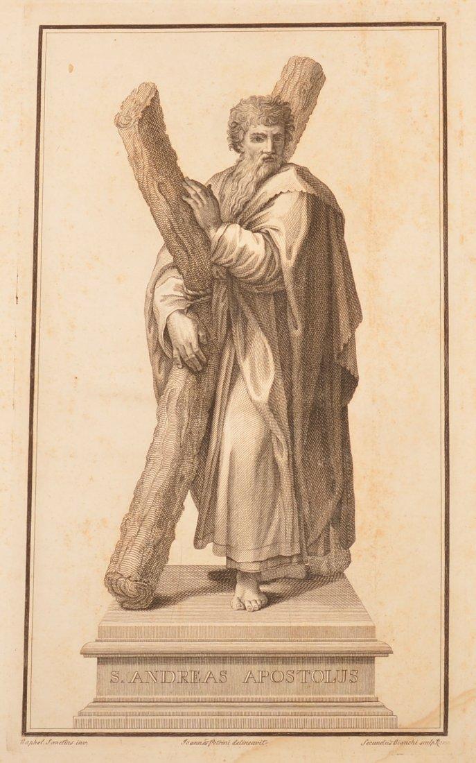 Engraving Portfolio THE TWELVE APOSTLES .