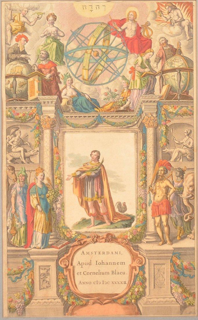 Title page of the 'Theatrum Orbis Terrarum'.