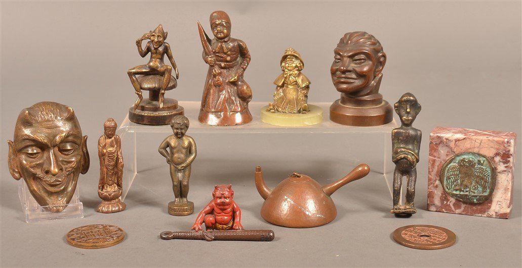 Cast Bronze & Metal Figures, Paperweights, etc.