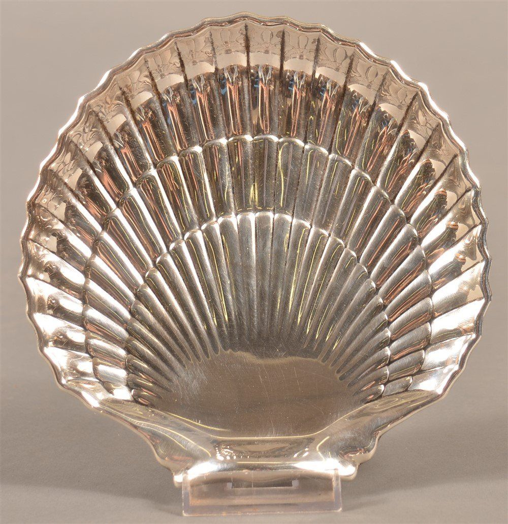 Gorham Sterling Silver Shell Shaped Tray.