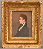 Jacob Eichholtz Portrait of a Gentleman Painting.
