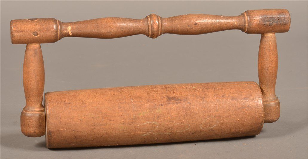 Pennsylvania 19th Century Wood Rolling Pin.
