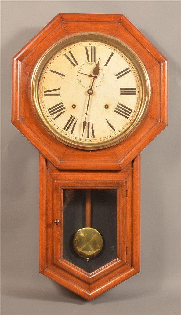 "Mahogany Welch ""Verdi"" Regulator Clock."