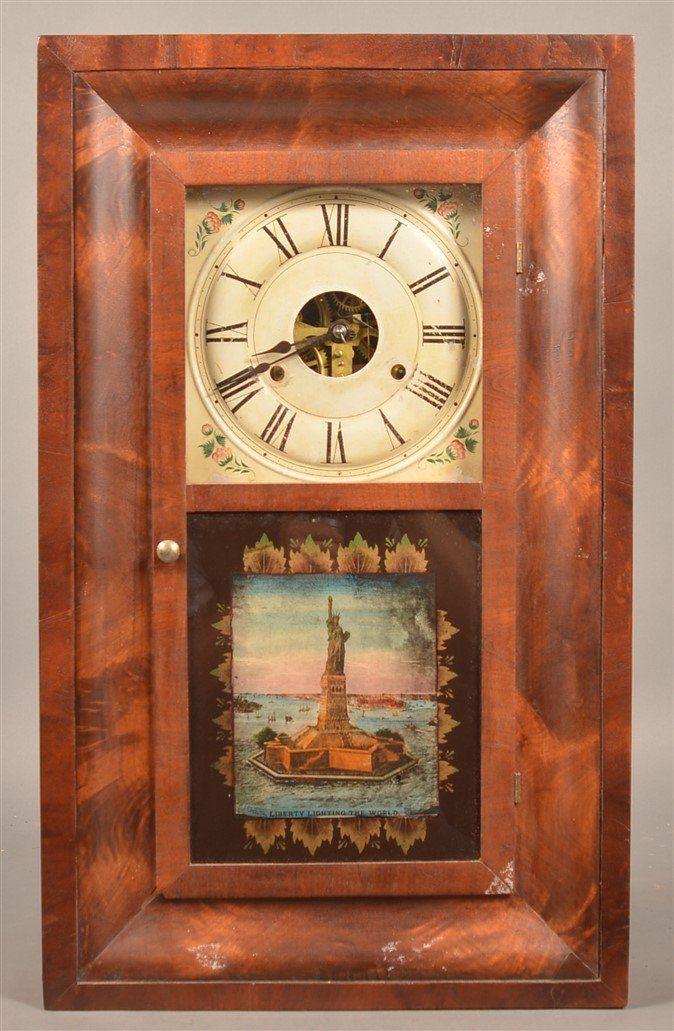 Seth Thomas Mahogany Shelf Case Clock.