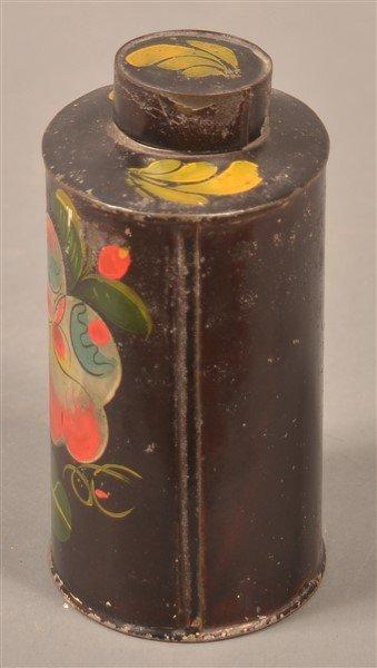 Pennsylvania 19th Century Toleware Tea Caddy. - 3