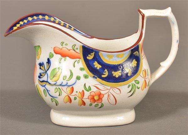 Gaudy Dutch  China Single Rose Cream Pitcher. - 2