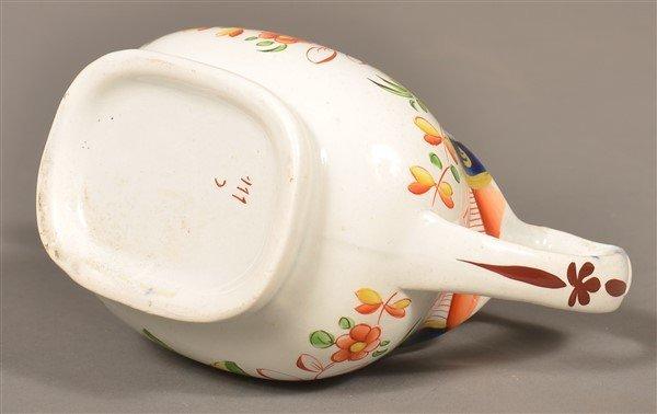 Gaudy Dutch  China Single Rose Cream Pitcher. - 3