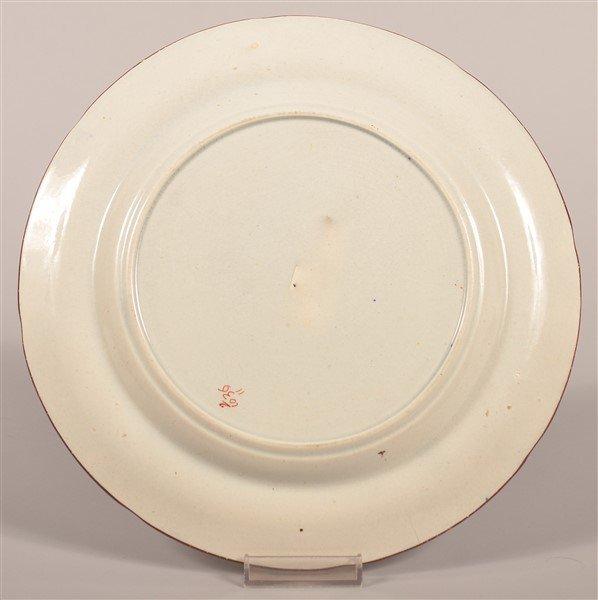 """Gaudy Dutch China Grape Pattern 9-3/4"""" Plate. - 2"""