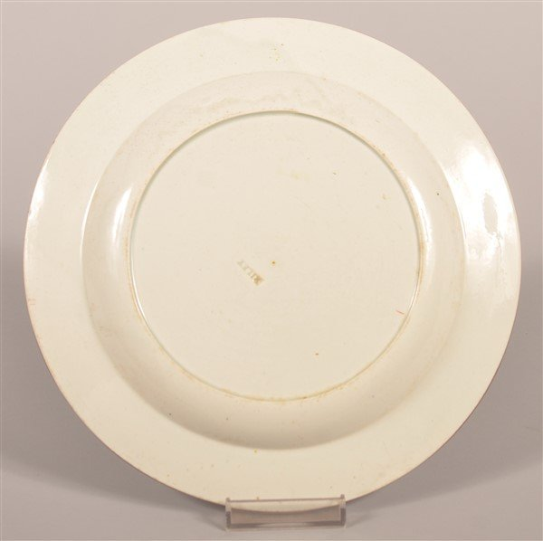 """Gaudy Dutch China Zinnia Pattern 8-3/8"""" Plate. - 2"""