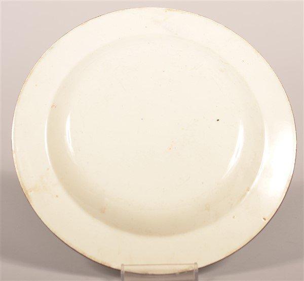 Gaudy Dutch China Single Rose Pattern Plate. - 2