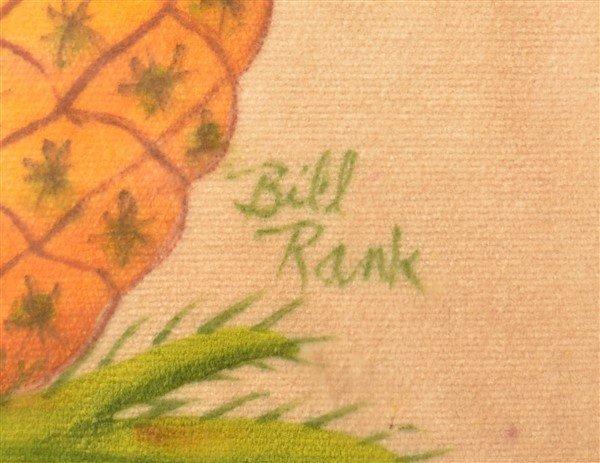 Bill Rank Pineapple Theorem. - 2