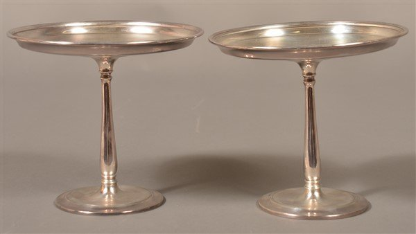 Pair of Tiffany & Co. Sterling Silver Tazas.