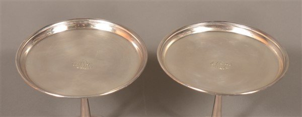 Pair of Tiffany & Co. Sterling Silver Tazas. - 2