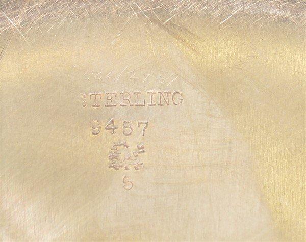 Redlich & Co. New York Sterling Pancake Dish. - 3